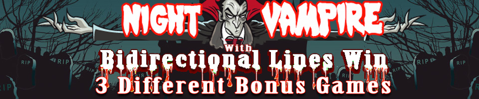 Night Vampire HD - Video Slot